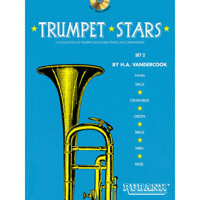 Trumpet Stars: A Collection of Trumpet Solos with Piano Accompaniment - Set 2 (w/ CD)