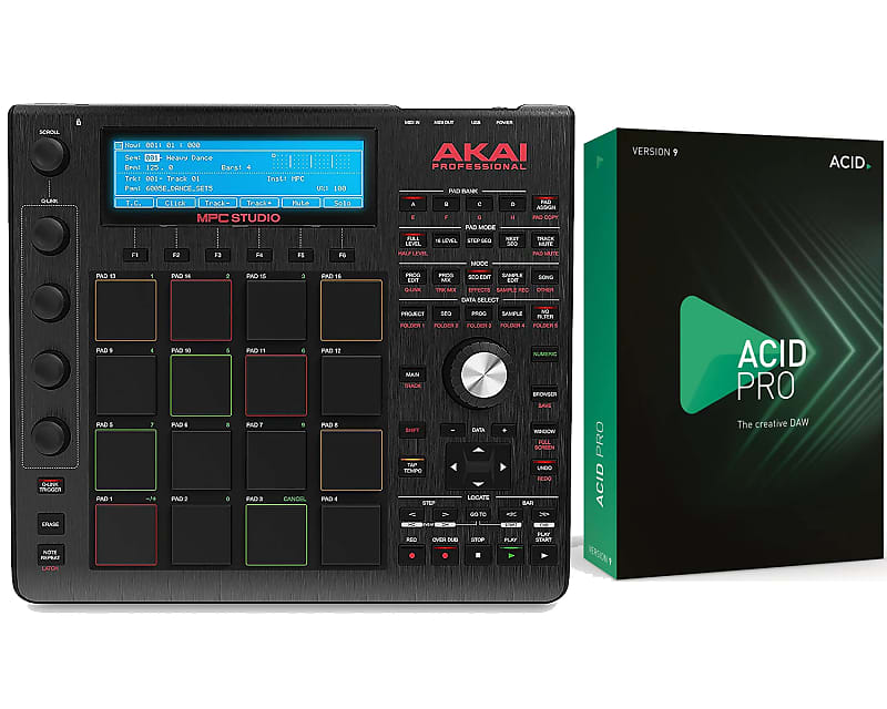 Akai MPC Studio Black with FREE Acid Pro 9 Production | Reverb