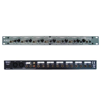 Rolls RA62c 6 CH Pro Headphone Amp 1U