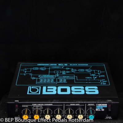 Boss RCL-10 Series Compressor Limiter Micro Rack s/n ZA53177 Japan