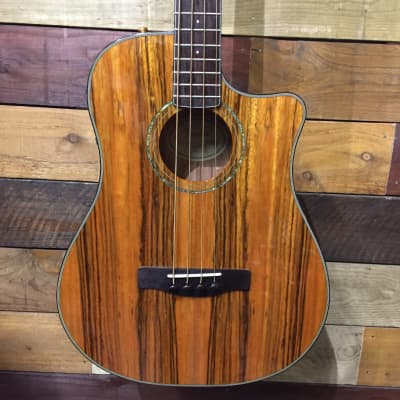 Fender Victor Bailey Acoustic Bass Natural Dao Figured Top 2008 for sale
