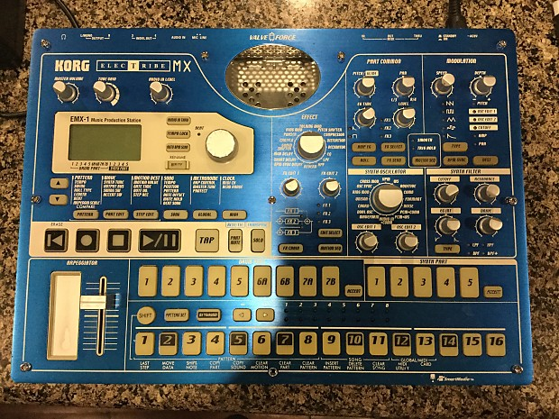 KORG Electribe EMX-1 For Parts Only-Non Functional Smart Media Version