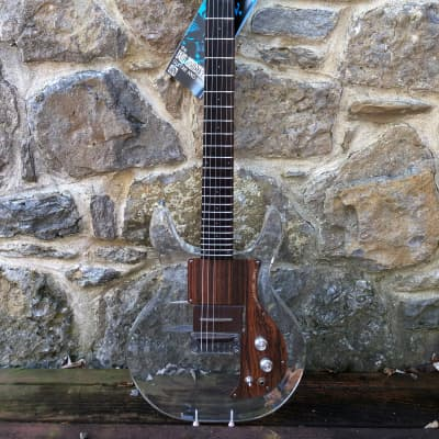 1970 Ampeg Dan Armstrong Lucite Guitar Clear, near mint for sale