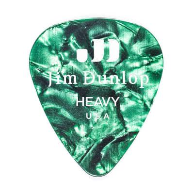 Dunlop 483P12HV Classic Celluloid Heavy Guitar Picks (12-Pack)