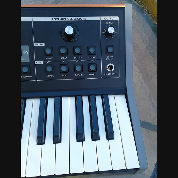 moog little phatty stage ii  ltd solar cv edition   gig