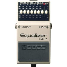 Boss GE-7 Seven-Band Graphic Equalizer Pedal