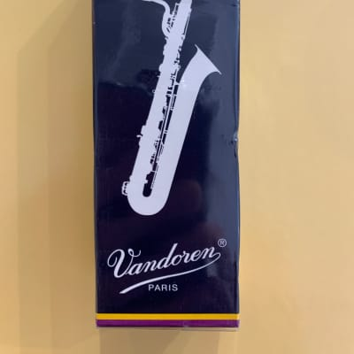Vandoren Baritone saxophone reeds strength 3, box of 5