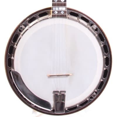1986 Gold Star G-12 HF Hearts and Flowers Banjo natural for sale