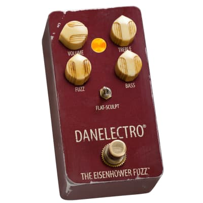 The Eisenhower Fuzz Pedal by Danelectro