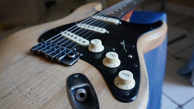 Warmoth Fender Strat Natural Relic | Dans Boutique