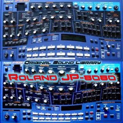 from Roland JP-8080 - the King of Dance - Large unique WAVE/Kontakt Studio Samples Library