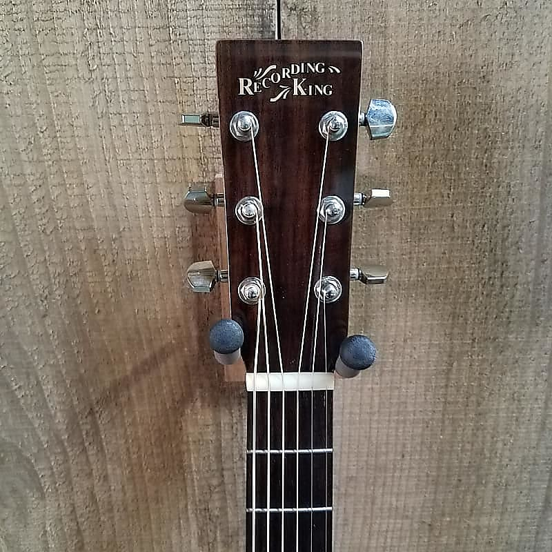 Recording King RD-06 Dreadnought Acoustic Guitar Natural
