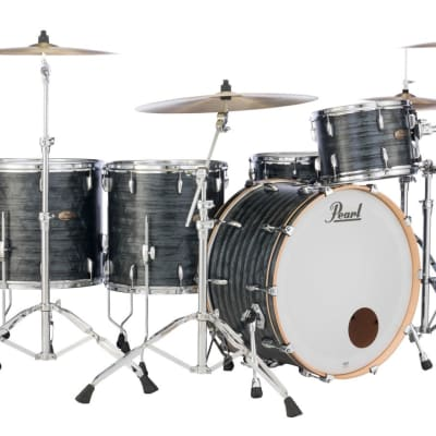 "STS2014BX/C762 Pearl Session Studio 20""x14"" Bass Drum  MOLTEN MATTE BLACK PEARL"