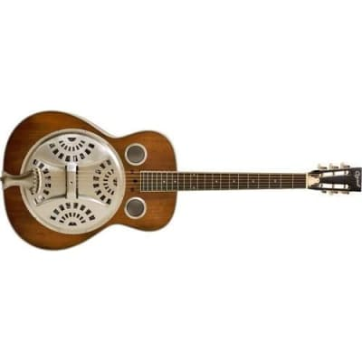 Ozark 3515DD Deluxe Wooden Spider Resonator with Distressed Finish for sale