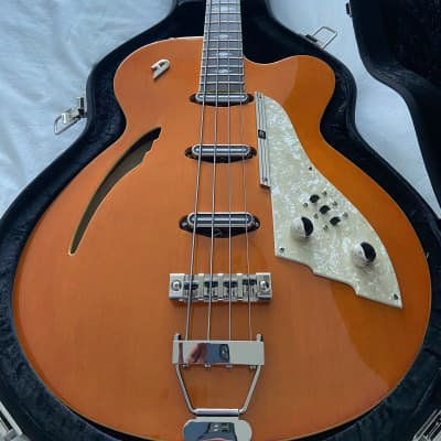 Duesenberg Motown Bass 4-string (Vintage Orange) for sale
