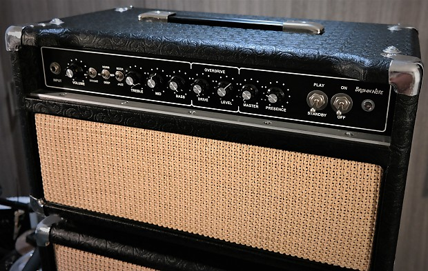 Brown Note D'lite 44 ODS Dumble Clone Tube Head & 1x10 JBL Combo Cab MINT!