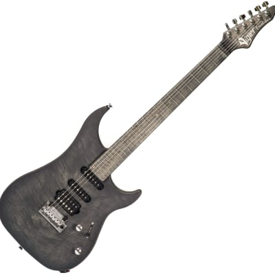 Vigier Excalibur Ultra Blues (HSS, Trem, RW) - Velour Noir for sale