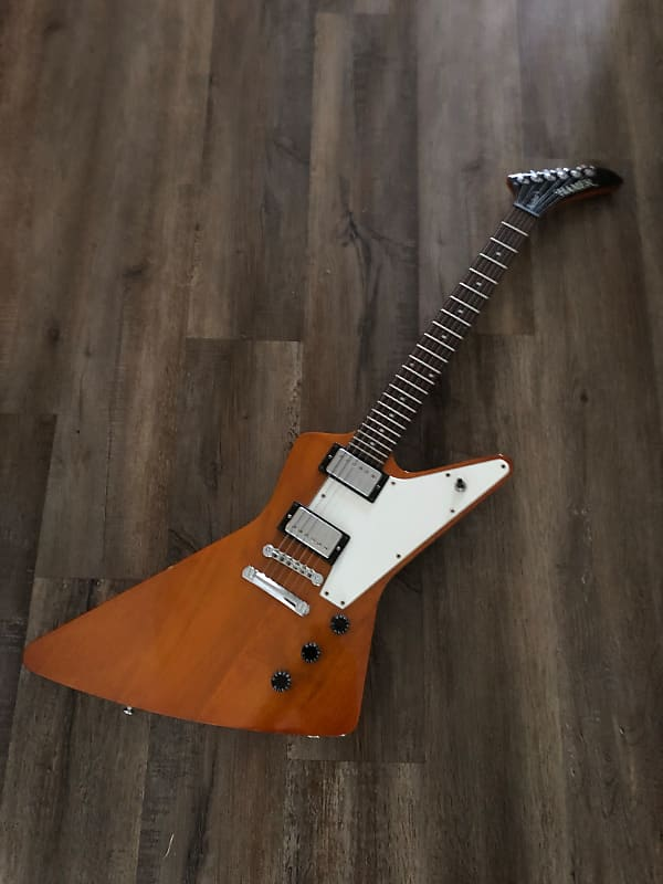 Hamer Standard 1990s Natural w/ Gibson Burstbuckers and HSC MIK