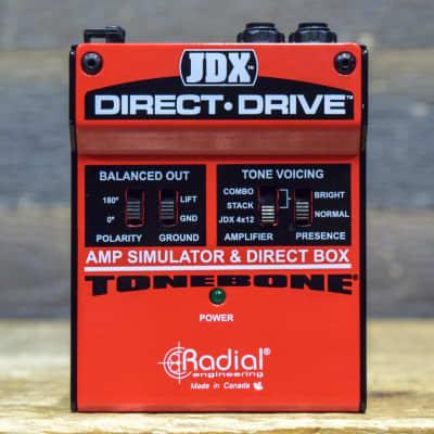 Radial Engineering Tonebone JDX Direct-Drive Amp Simulator & Direct Box Pedal