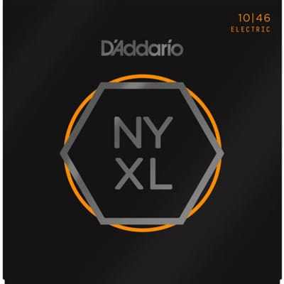 D'Addario NYXL Electric Guitar Strings - Light Gauge 10-46