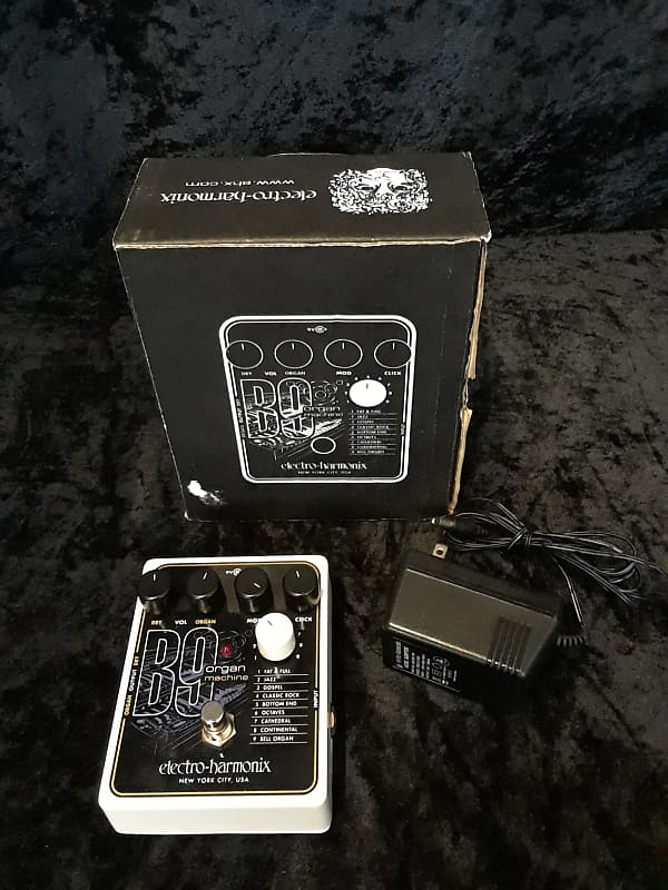 electro harmonix b9 organ machine guitar effect pedal reverb. Black Bedroom Furniture Sets. Home Design Ideas