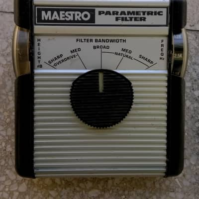 Maestro MPF-1 Parametric Filter & Overdrive  - serial number MPF1170