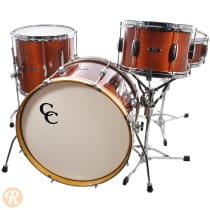 C&C Player Date 4 Piece Bop Kit 2012 Mahogany Lacquer image