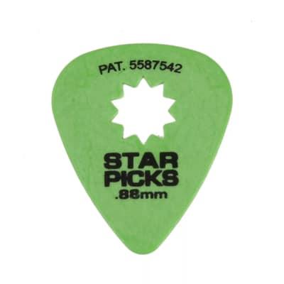 Star Picks Original Green 0.88mm (12) 6 Set Bundle
