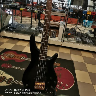Ibanez K5 Fieldy Signature 5-String Bass  satin black for sale