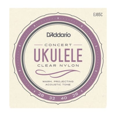 D'Addario Pro-Arte EJ65C Custom Extruded Concert Ukulele Strings