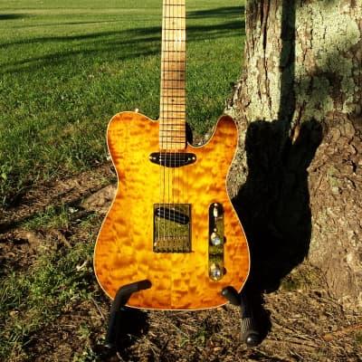Jaeger Guitar Werks Modern Heritage 2016 maple burst for sale