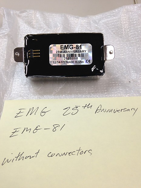 Dannys Auto Sales >> EMG-81 25th anniversary   Reverb