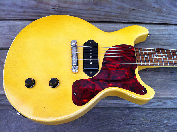 Edwards Les Paul Tv Yellow Jr Mij Junior Greco