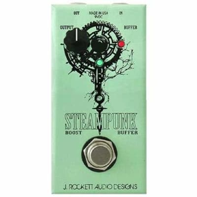 J. Rockett Audio Designs Steampunk Boost/Buffer Pedal for sale