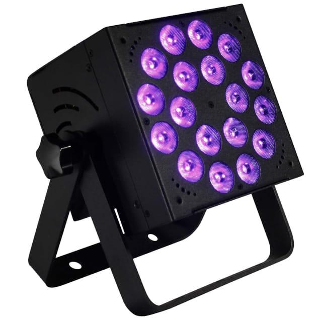 Blizzard Lighting RokBox EXA 18x 15W RGBAW+UV 6-in-1 LEDs DMX Wash DJ Light image