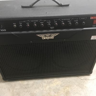 Raven RG 100 combo guitar amplifier with lots of tones and effects for sale