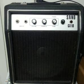 70s Sano GX-10 Solid State Amplifier for sale