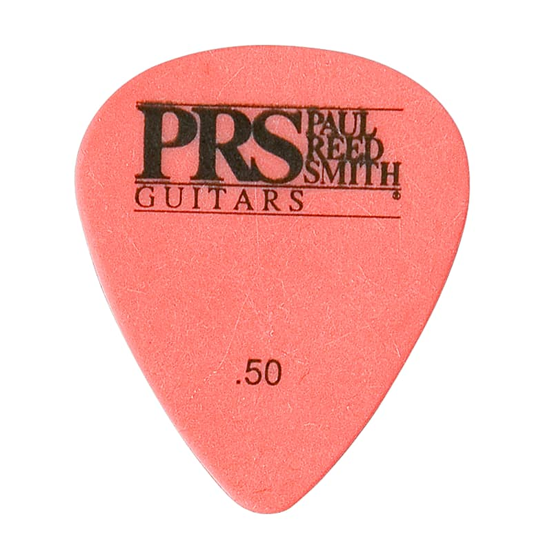 Paul Reed Smith PRS Red Delrin .50mm Guitar Picks (12 Pack)