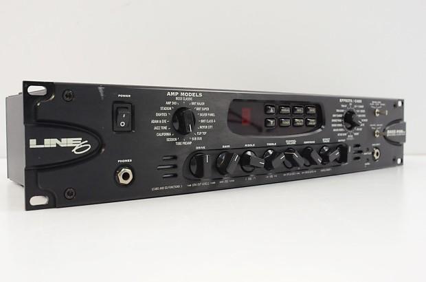 line 6 bass pod pro bass guitar amp modeler reverb. Black Bedroom Furniture Sets. Home Design Ideas