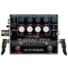 Electro-Harmonix  Battalion Bass Preamp + DI Pedal