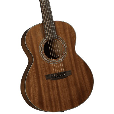Bristol BF-15S Solid Top Folk Body Acoustic Guitar Mahogany for sale