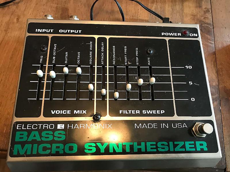 electro harmonix bass micro synth joe 39 s pedal zone reverb. Black Bedroom Furniture Sets. Home Design Ideas