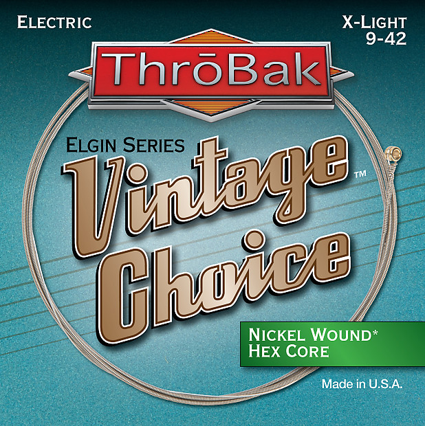 throbak vintage choice nickel wound hex core electric guitar reverb. Black Bedroom Furniture Sets. Home Design Ideas