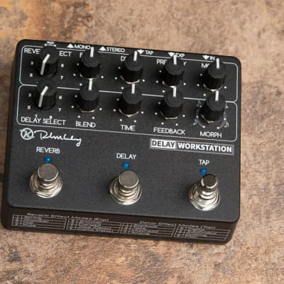 Keeley Delay Workstation - 16 in 1 Delay Echo and Reverb Pedal