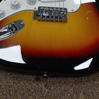 Austin Guitars AST 100 2019 Sunburst New Soft Case N Cable Included 2 Left Handed N 1 Eighty Left for sale