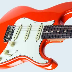 Suhr Scott Henderson Signature Classic Electric Guitar - Fiesta Orange