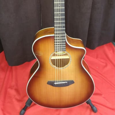 Breedlove Pursuit Exotic Concert CE Australian Blackwood Cutaway w/ Electronics Sunburst for sale