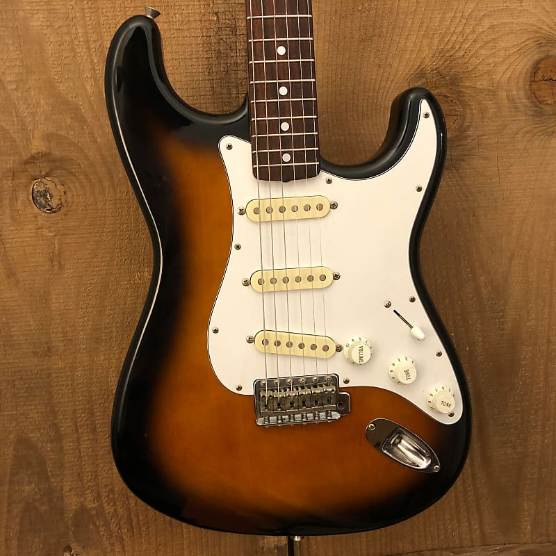 Fernandes Stratocaster-Style Vintage MIJ Electric Guitar Sunburst c. 1990s Japan