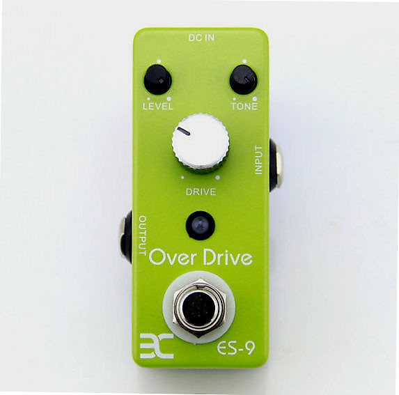 Eno Od9 Overdrive Guitar Effect Pedal Tube Screamer Style