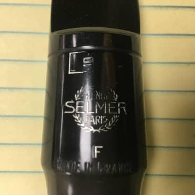 "Selmer S80 ""F"" Hard Rubber Alto Saxophone Mouthpiece. Great Player"